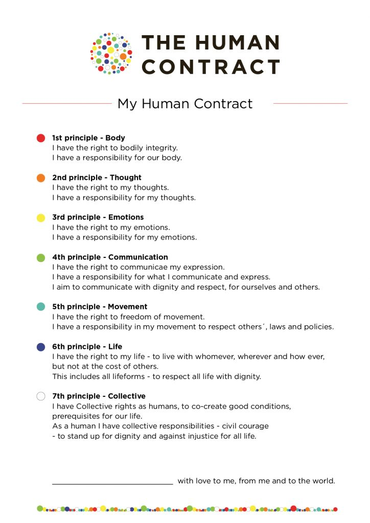 My Human Contract